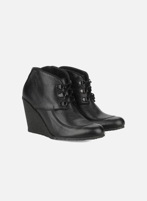 Boots en enkellaarsjes Le Mont St Michel Alameda Zwart 3/4'