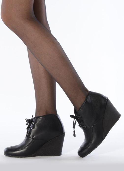Boots en enkellaarsjes Le Mont St Michel Alameda Zwart onder