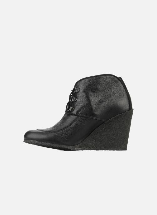 Boots en enkellaarsjes Le Mont St Michel Alameda Zwart voorkant