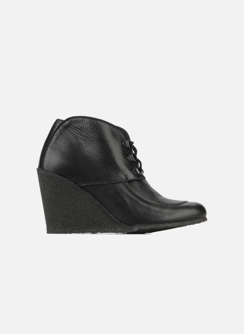 Boots en enkellaarsjes Le Mont St Michel Alameda Zwart achterkant