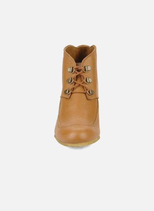 Bottines et boots Le Mont St Michel Alameda Marron vue portées chaussures
