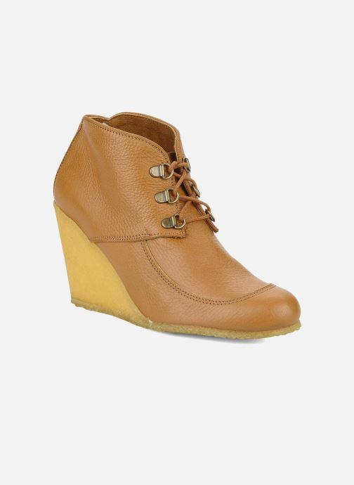Bottines et boots Le Mont St Michel Alameda Marron vue détail/paire