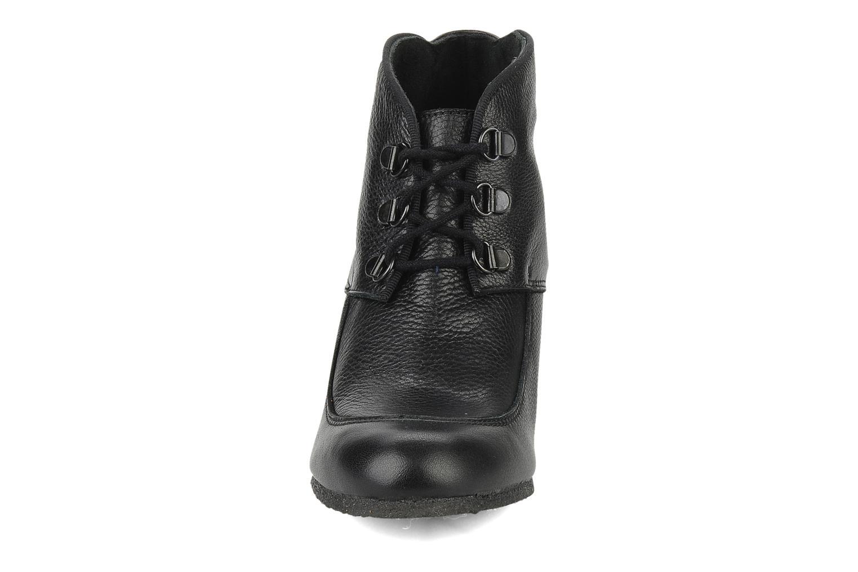 Bottines et boots Le Mont St Michel Alameda Noir vue portées chaussures