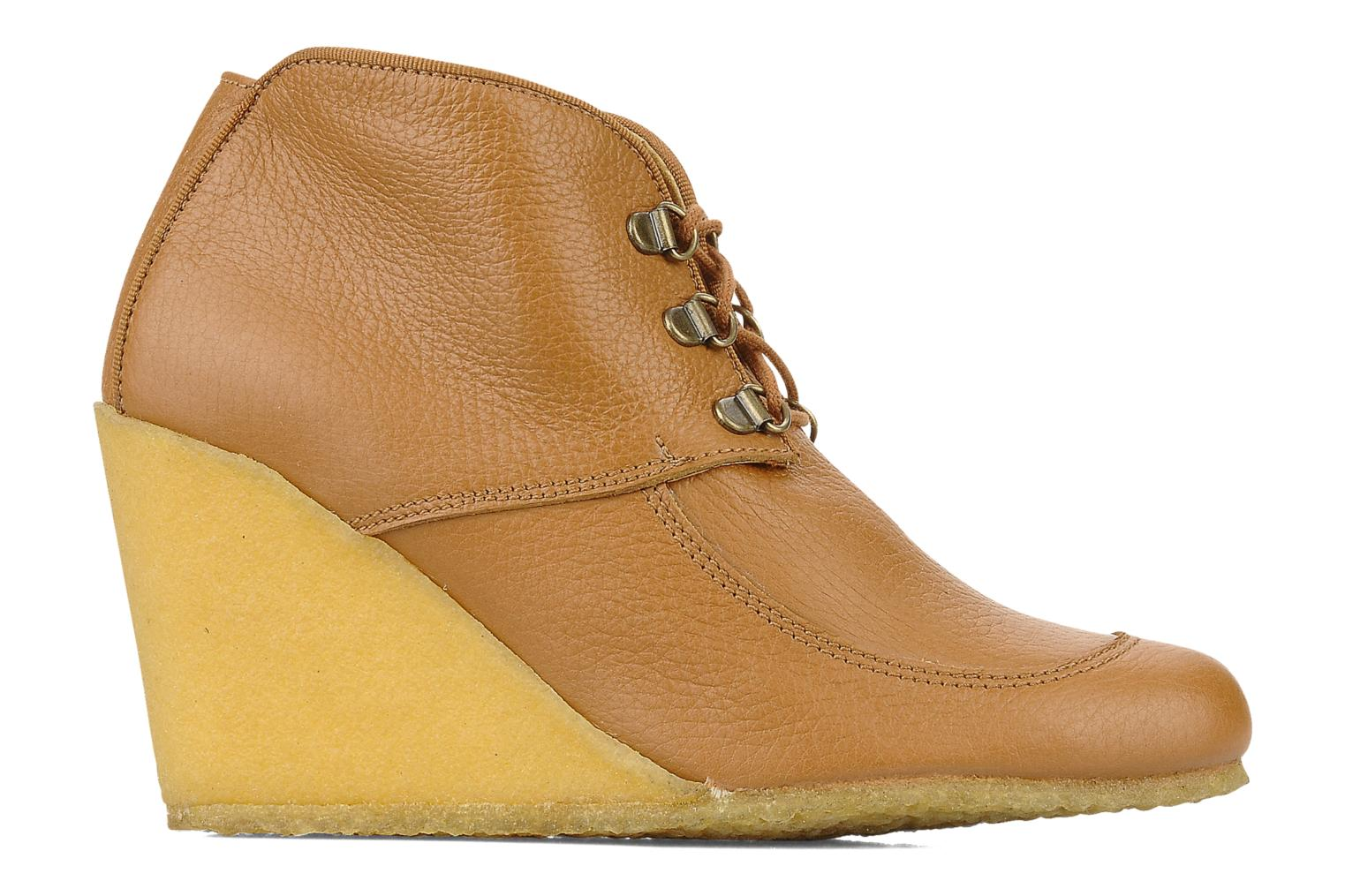 Ankle boots Le Mont St Michel Alameda Brown back view