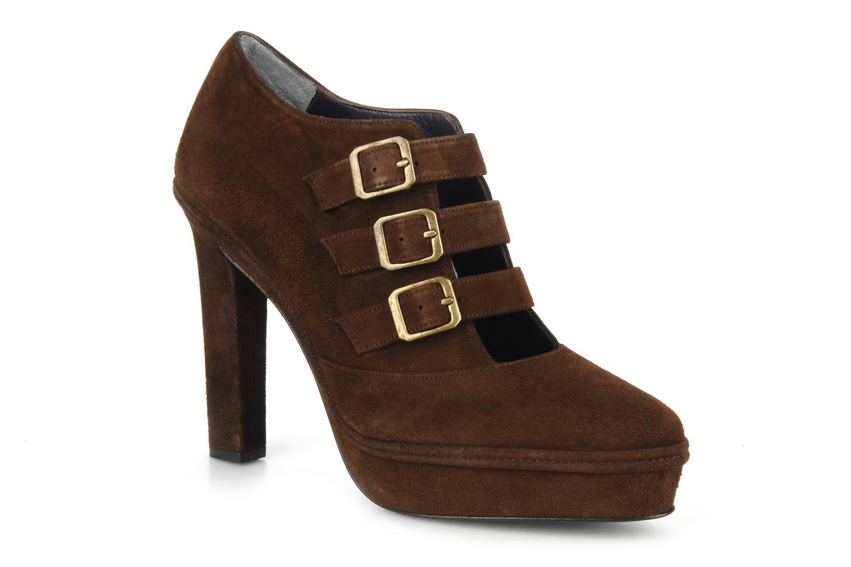 Ankelstøvler Castaner Glesy Brun detaljeret billede af skoene