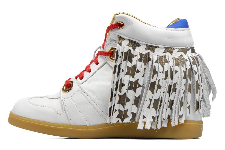 Baskets Serafini Manhattan Blanc vue face