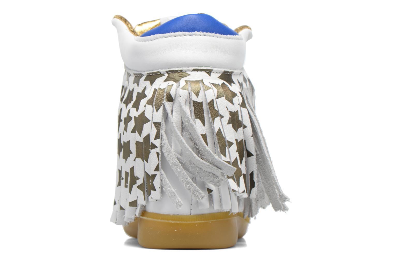 Baskets Serafini Manhattan Blanc vue droite