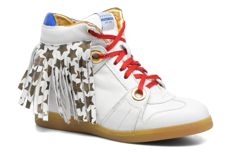 Serafini Manhattan (Blanc) - Baskets en Más cómodo Dernières chaussures discount pour hommes et femmes