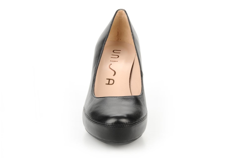 Escarpins Unisa Numar Noir vue portées chaussures