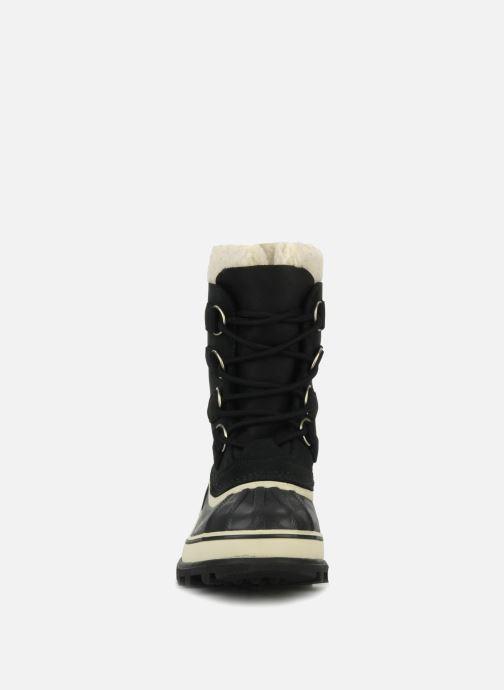 Chaussures de sport Sorel Caribou W Noir vue portées chaussures