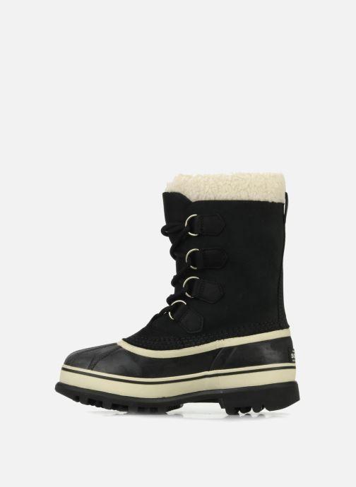 Sport shoes Sorel Caribou W Black front view
