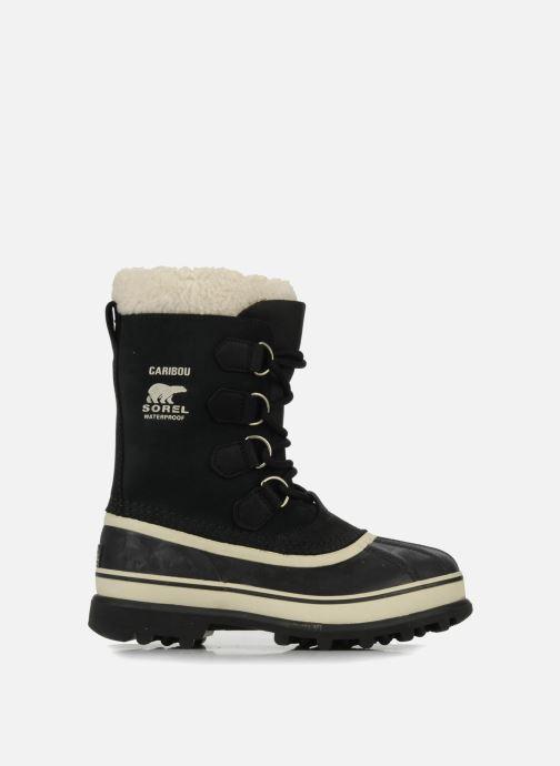 Chaussures de sport Sorel Caribou W Noir vue derrière