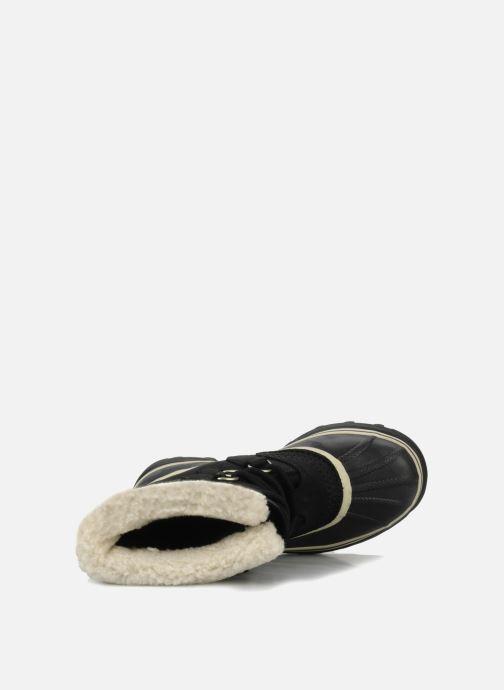 Chaussures de sport Sorel Caribou W Noir vue gauche