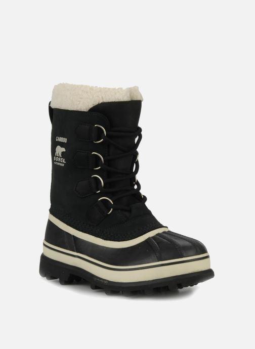 Sport shoes Sorel Caribou W Black detailed view/ Pair view