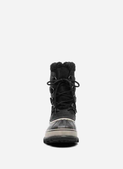 Scarpe sportive Sorel Caribou Nero modello indossato