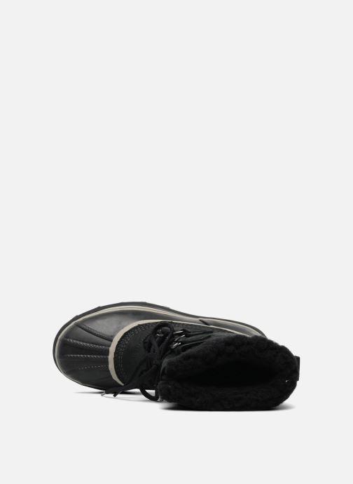 Zapatillas de deporte Sorel Caribou Negro vista lateral izquierda