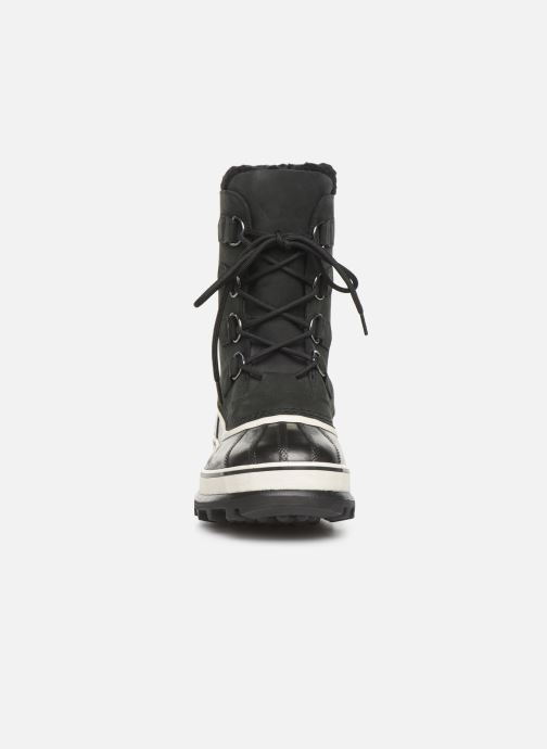 Chaussures de sport Sorel Caribou Noir vue portées chaussures