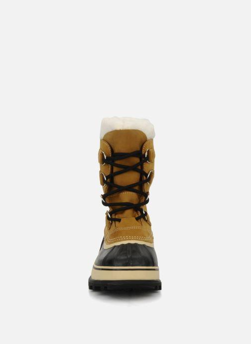 Scarpe sportive Sorel Caribou Beige modello indossato