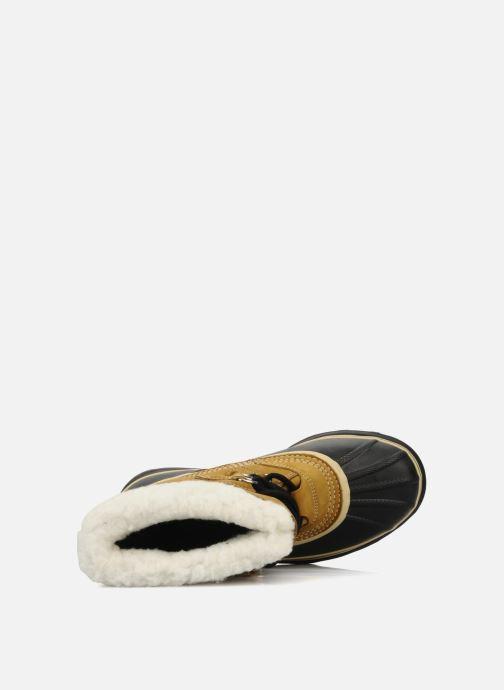 Zapatillas de deporte Sorel Caribou Beige vista lateral izquierda