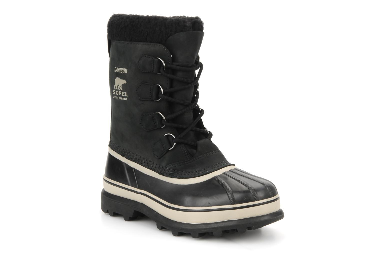 Sorel Caribou (Noir) - Chaussures de sport en Más cómodo Chaussures femme pas cher homme et femme