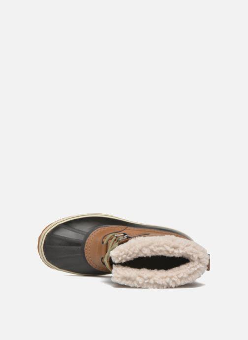 Chaussures de sport Sorel 1964 Pac Nylon Marron vue gauche