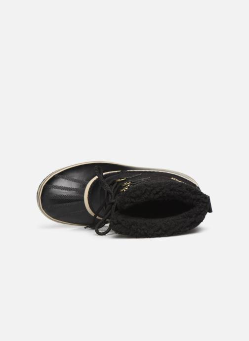 Chaussures de sport Sorel 1964 Pac Nylon Noir vue gauche
