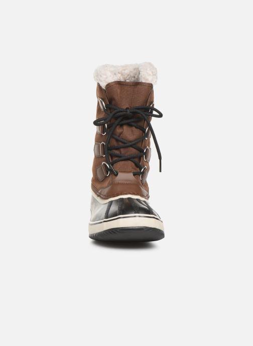 Zapatillas de deporte Sorel 1964 Pac Nylon Marrón vista del modelo