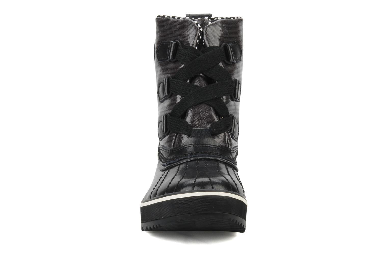 Bottines et boots Sorel Tivoli Rain Noir vue portées chaussures