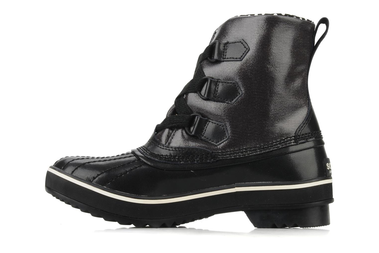 Bottines et boots Sorel Tivoli Rain Noir vue face