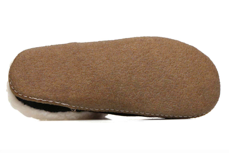 Pantoffels Sorel Nakiska slide Zwart boven