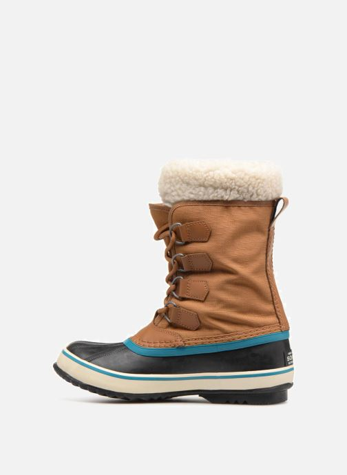 Sport shoes Sorel Winter carnival Brown front view