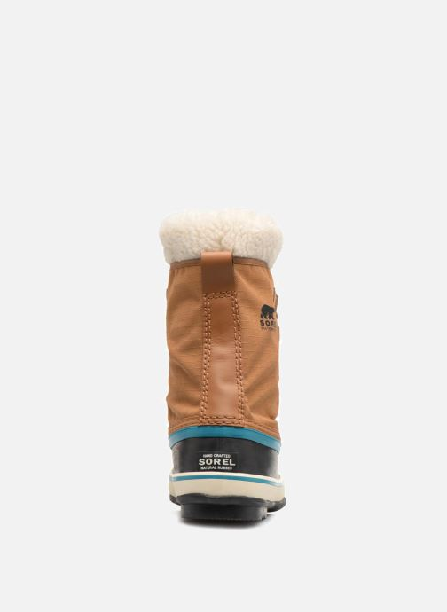 Sport shoes Sorel Winter carnival Brown view from the right