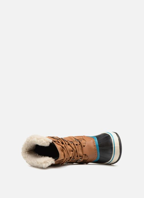 Sport shoes Sorel Winter carnival Brown view from the left