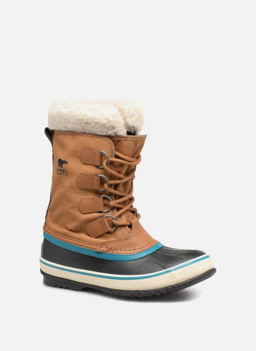 Sport shoes Sorel Winter carnival Brown detailed view/ Pair view