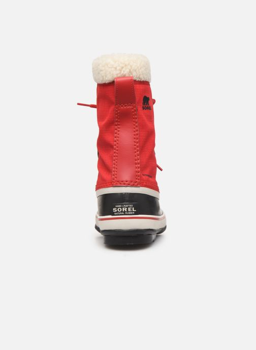 Sport shoes Sorel Winter carnival Red view from the right