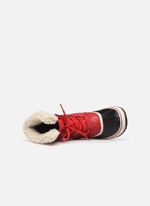Sport shoes Sorel Winter carnival Red view from the left