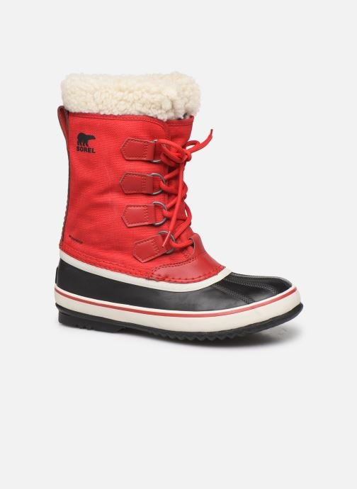 Sport shoes Sorel Winter carnival Red detailed view/ Pair view