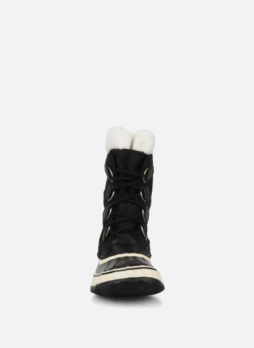 Sportschuhe Sorel Winter carnival schwarz schuhe getragen