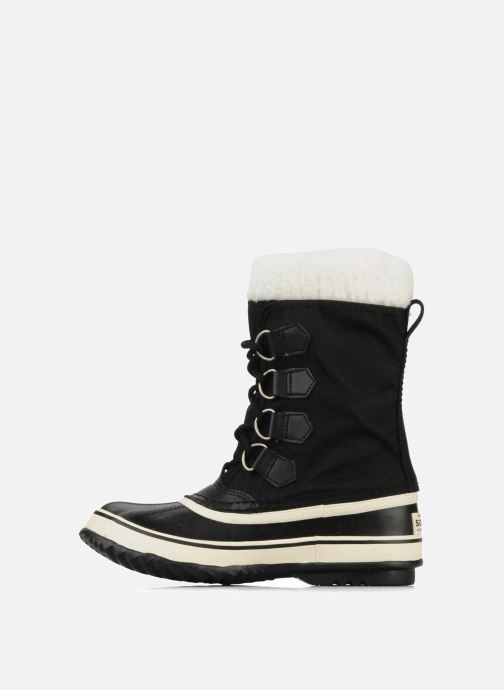 Sport shoes Sorel Winter carnival Black front view