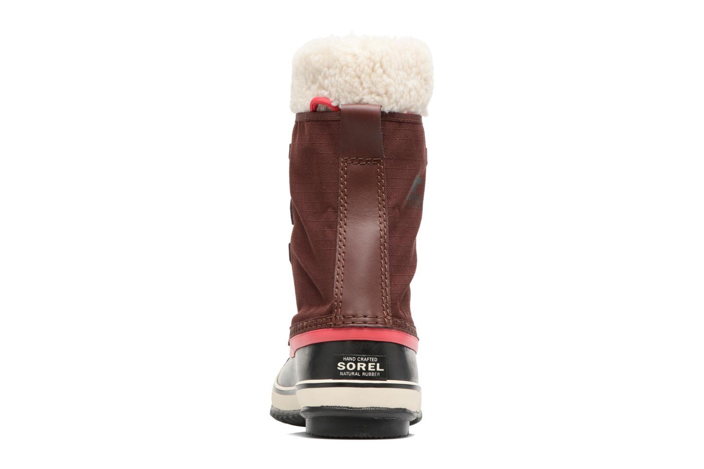 Chaussures de sport Sorel Winter Carnival Bordeaux vue droite