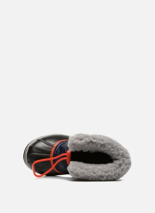 Zapatillas de deporte Sorel Yoot Pac Nylon Azul vista lateral izquierda