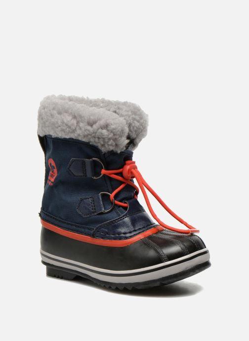 Chaussures de sport Sorel Yoot Pac Nylon Bleu vue détail/paire