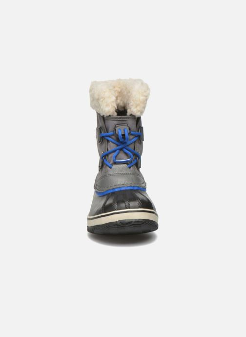 Chaussures de sport Sorel Yoot Pac Nylon Gris vue portées chaussures