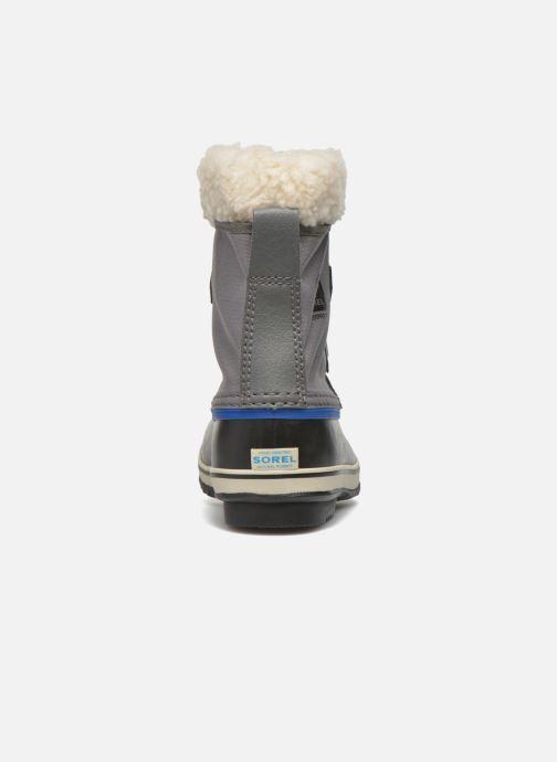 Zapatillas de deporte Sorel Yoot Pac Nylon Gris vista lateral derecha
