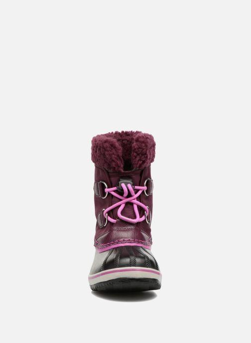 Zapatillas de deporte Sorel Yoot Pac Nylon Violeta      vista del modelo