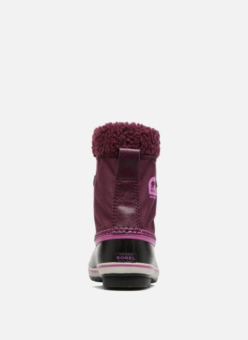 Chaussures de sport Sorel Yoot Pac Nylon Violet vue droite