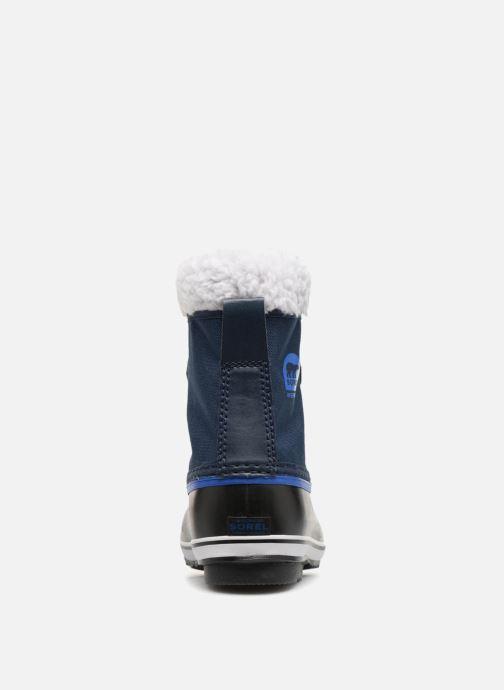 Zapatillas de deporte Sorel Yoot Pac Nylon Azul vista lateral derecha