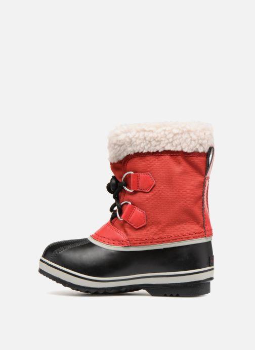 Chaussures de sport Sorel Yoot Pac Nylon Rouge vue face
