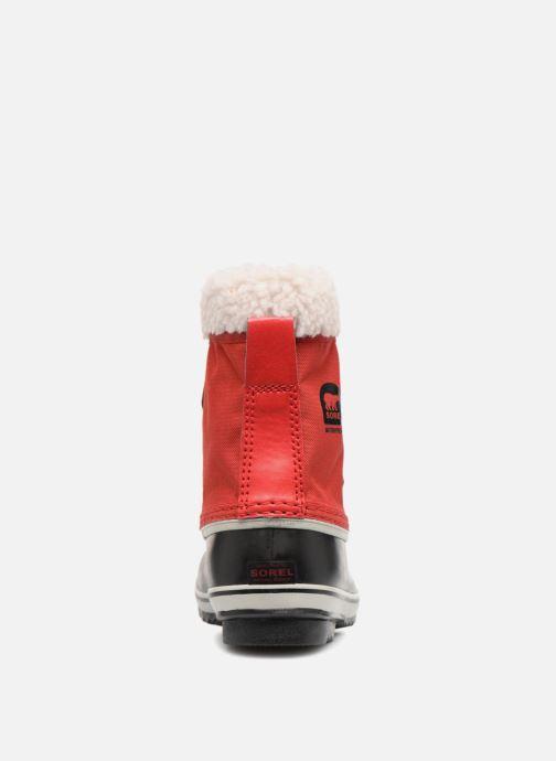 Chaussures de sport Sorel Yoot Pac Nylon Rouge vue droite