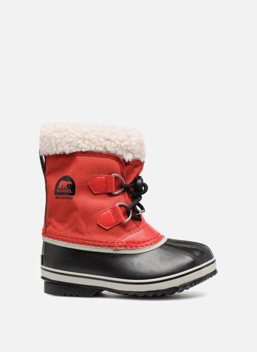 Chaussures de sport Sorel Yoot Pac Nylon Rouge vue derrière